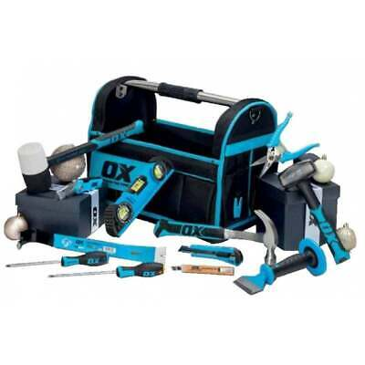 Ox Complete Builders Handyman Starter Tool Kit In Tote Bag Perfect Xmas Gift