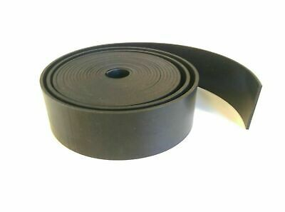 Black Neoprene Solid Rubber Strip General Purpose Grade Various Sizes
