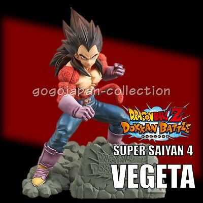 Dragonball Dokkan Battle 4Th Anniversary Super Saiyan 4 Vegeta Figure
