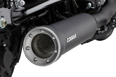 Slip on muffler black yamaha - YAMAHA XV ABS XVS C BOLT R - Cobra .