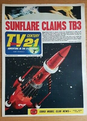 TV CENTURY 21 Issue 86 FIREBALL XL5, STINGRAY,  DALEKS/THUNDERBIRDS VG