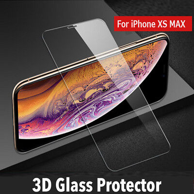 For Apple iPhone XS MAX 8 7 Plus Screen Protector Best Tempered Glass Protection