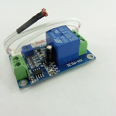 DC Automatic Light XH-M131 Control Module Photo-resistor Switch Relay Brightness