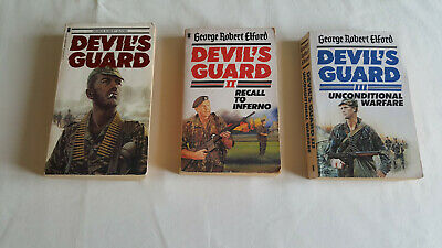 Devil's Guard Trilogy, by George Robert Elford - New English Library Paperback