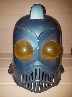 Casque Déguisement Vintage Robot Creatures of Black Lagon SF Invaders From Mars