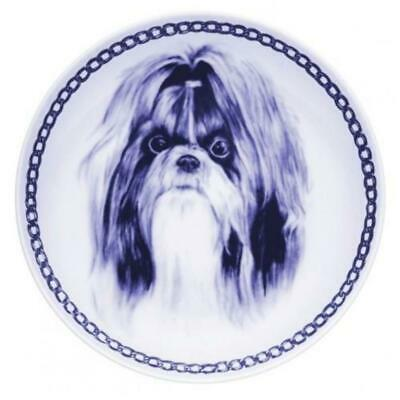 Shih Tzu - Dog Plate made in Denmark from the finest European Porcelain