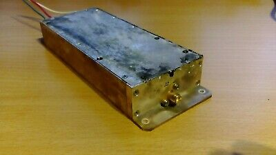 Microwave VHF UHF preamp Power Amplifier 70-1000 MHz 20dBm 70dB + AGC  TESTED