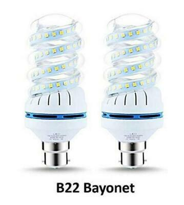 2X B22 Ultra Bright White Led Energy Saving Bulb Lamp Bayonet 6000K - Good One