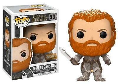 Funko POP! Game of Thrones TORMUND SNOW COVERED 53