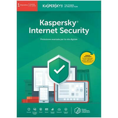 kaspersky internet security 2019 1 Device 1 Year Multi device UK & Europe