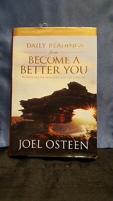 LOT OF 3 Joel Osteen books: Daily Reading from Your Best