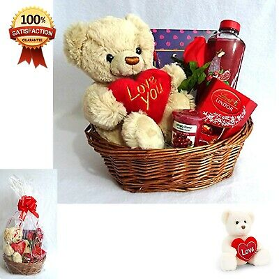 Valentines Day Gift Basket Hamper Her Ideal Birthday For Wife Or Girlfriend