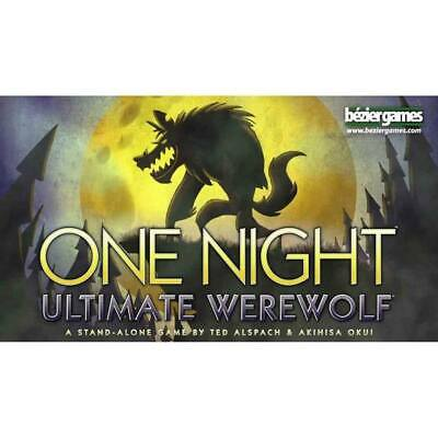 One Night Ultimate Werewolf The Board Game NEW In Stock Casually Competitive