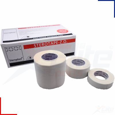 Steroplast Zinc Oxide Tape Strapping Medical Clinical ZO Sport Injury Roll White
