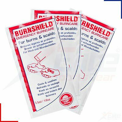 Burnshield Burn Blot Hydrogel Gel Sachets 3.5g - Burns/Scald Emergency Treatment