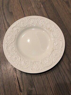 1 Wedgwood PATRICIAN PLAIN (Old) 10,5 In Dinner Plate Off-White
