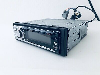 sony cdx-f5700 fm/am compact disc player, removable face with wire harness