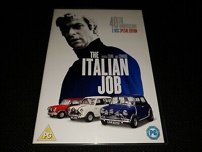 The Italian Job: 40th Anniversary Special Edition (DVD, 2009, 2-Disc Set)
