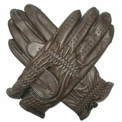 Mark Todd Leather Riding/Show Gloves Adult XSmall Dark Brown