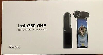 Insta360 One 360 degree 4K Action Camera For iPhones/iPads+ - Bundle Pack (New)