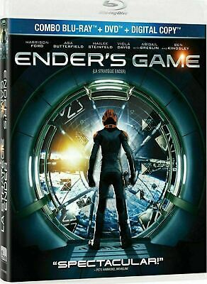 Ender's Game  (Bilingual) [Blu-ray + DVD] New and Factory Sealed!!