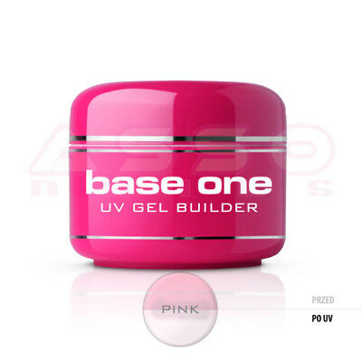 UV GEL base one PINK 50g Silcare COSTRUTTORE Monofase ROSA Nails Unghie French