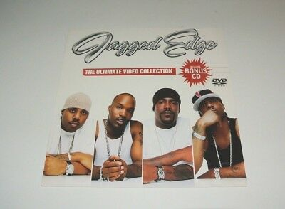 JAGGED EDGE -Ultimate Video Collection 04 PROMO R&B HIP-HOP POSTER FLAT 12 x 12