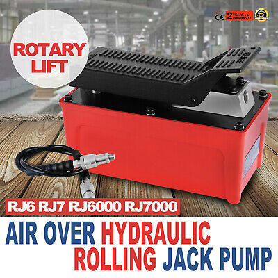 NEW OEM ROLLING JACK PUMP AIR OVER HYDRAULIC PUMP ROTARY LIFT Top