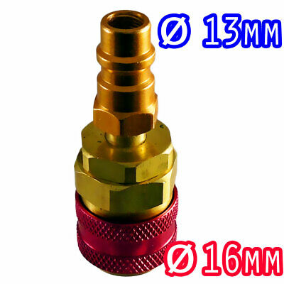 Raccord basse pression 13mm vers haute pression 16mm pour climatisation voiture
