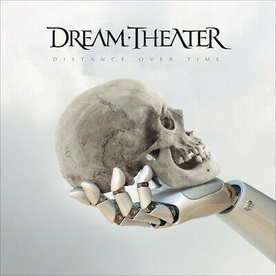 Distance over time by Dream Theater (Cd, slipcase, poster, Brasil, 2018) New