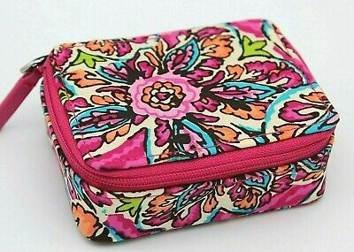 Vera Bradley Travel Pill Case Sunburst Floral