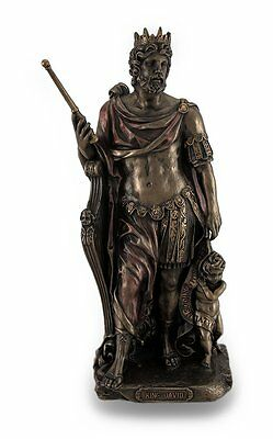 King David Statue Sculpture Figure - GIFT BOXED