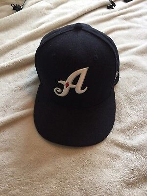 RENO ACES NEW Era 59fifty Hat 7 1/2 7 5 Navy Minor League Baseball Fitted