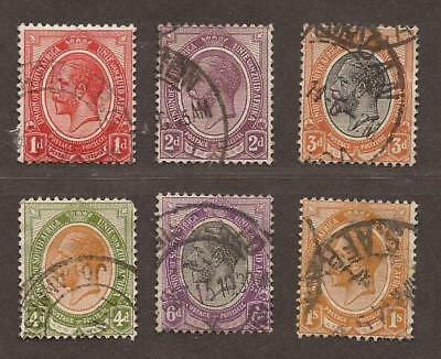 SOUTH AFRICA KGV Collection of 6 Used (JB5425)