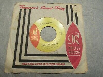 The Crystals Then He Kissed Me Brother Julius Philles Records 45