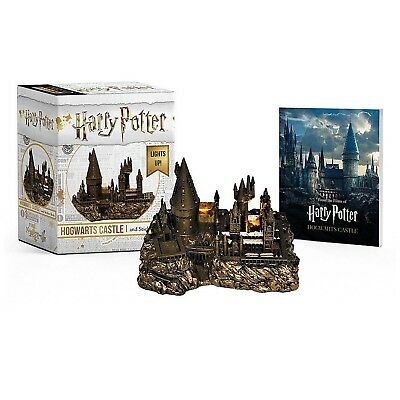 Harry Potter Hogwarts Castle and Sticker Book NEW Decorative Miniature