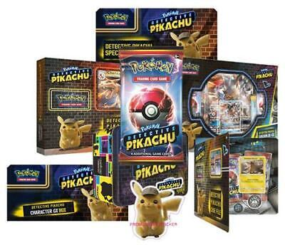 Pokemon Sealed English Detective Pikachu Mewtwo Gx Box Special