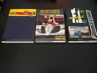 lotto libri Ferrari formula 1 1999 - F1 magic 1997 - Autocourse 1991/92