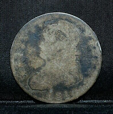 1810 Capped Bust Half Dollar ✪ Ag About Good ✪ 50C Silver Almost Ch ◢Trusted◣