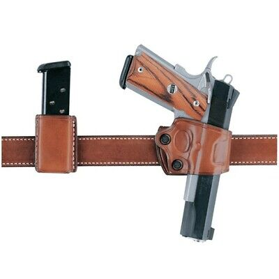 Aker Leather H154TPRU-CO1911 154 Yaqui Holster For Colt 1911 Right Hand Tan