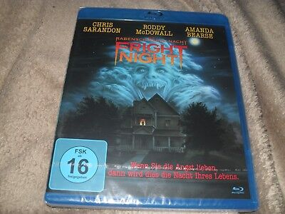 Fright Night (1985) Roddy McDowall BRAND NEW Region Free Blu-ray