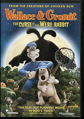 Wallace Gromit: The Curse of the Were-Rabbit (DVD, 2006, Widescreen)