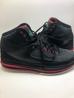 5ab798ec028 ... norway nike air jordan retro 2.0 max air black red green size 9.5  455616 db811 56098
