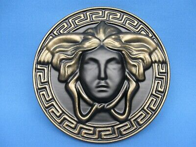 medium wall sticker black bronze Greek Medusa Gorgon old style vintage home girl