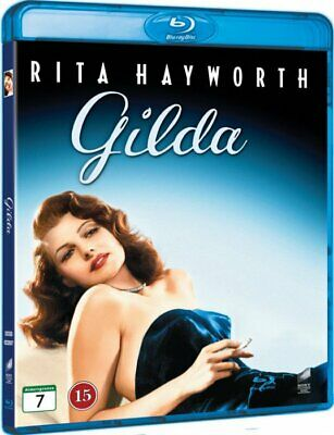 GILDA (1946) Rita Hayworth Blu-Ray Import BRAND NEW Free Ship (USA Compatible)