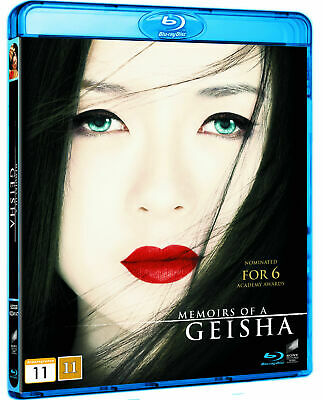 Memoirs of a Geisha (2005) Blu-Ray BRAND NEW Free Shipping