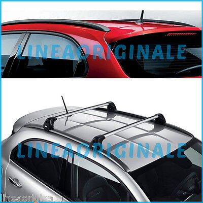 Roof Bars original Fiat 500X luggage rack longitudinati + cross new