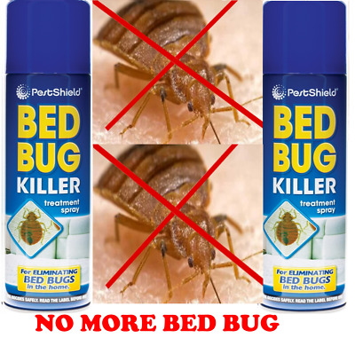 PestShield Bed Bug Killer 200ml treatment spray home bedroom insect control