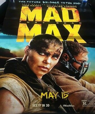 MAD MAX FURY ROAD MOVIE POSTER 2 Sided ORIGINAL Advance 48x70 TOM HARDY