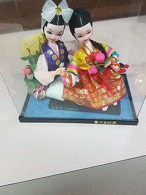 A Two Geisha  Girls  In A Glass  Dome